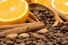 помеец кофе циннамона Стоковые Изображения