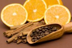 помеец кофе циннамона Стоковые Фотографии RF