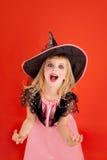 помеец малыша halloween девушки costume Стоковое фото RF