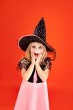 помеец малыша halloween девушки costume Стоковое Изображение
