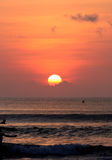 помеец пляжа яркий Стоковые Фото