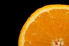 помеец предпосылки черный Стоковая Фотография RF