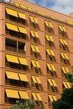 помеец фасада здания Стоковая Фотография