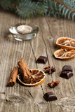 помеец циннамона шоколада анисовки Стоковая Фотография RF