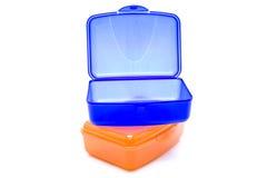 помеец click голубой коробки Стоковая Фотография