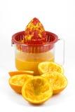 помеец juicer стоковое изображение