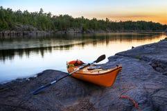 помеец kayak Стоковое Изображение RF