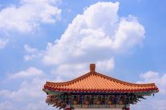 померанцовая крыша Стоковое Изображение