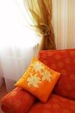 померанцовая подушка Стоковое Изображение RF