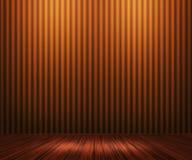 Померанцовая предпосылка комнаты сбора винограда Стоковая Фотография RF