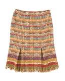 померанцовая юбка орнамента Стоковое Изображение