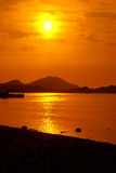 померанцовое море Стоковое фото RF