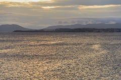 Померанцовое море Стоковое Изображение
