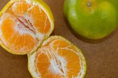 померанцовое органическое Стоковые Изображения RF