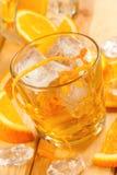 Померанцовое питье Стоковые Изображения RF
