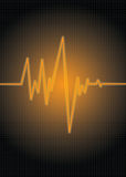 померанцовое pulsa Стоковое фото RF