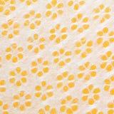 померанцовой желтый цвет текстурированный бумагой белый Стоковая Фотография
