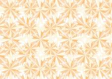 Померанцовые кристаллы и картина звезд Стоковая Фотография RF