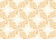Померанцовые кристаллы Стоковое Фото