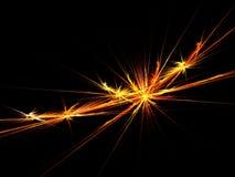 померанцовые лучи Стоковое Изображение RF
