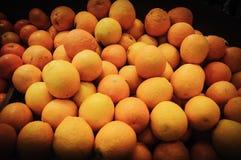 Померанцовые мандарины Стоковые Изображения RF