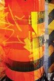 померанцовый желтый цвет текстуры Стоковые Изображения