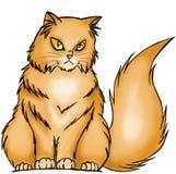 Померанцовый кот стоковое фото