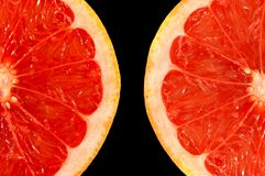 померанцовый красный цвет Стоковые Изображения