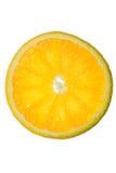померанцовый ломтик стоковое изображение