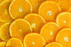 Померанцовый плодоовощ Еда предпосылки здоровая Ломтики Стоковые Изображения RF