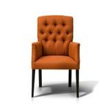 Померанцовый стул Стоковое фото RF
