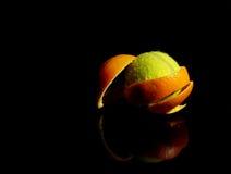 померанцовый теннис Стоковое Изображение