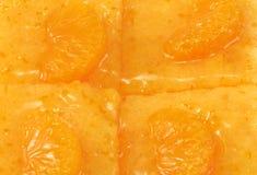 Померанцовый торт Стоковая Фотография RF