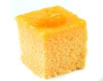 Померанцовый торт Стоковое Фото