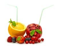 померанцовый pomegranate Стоковое фото RF