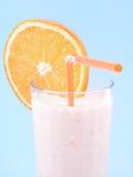 померанцовый smoothie стоковое изображение rf