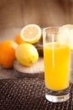 померанцы лимонов фруктового сока Стоковые Изображения RF