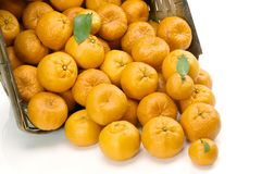 померанцы мандарина Стоковое фото RF