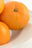 Померанцы мандарина Стоковая Фотография RF