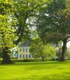 поместье дома Дании старое Стоковые Фотографии RF