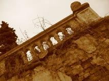 поместье дома старое Стоковое Фото