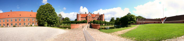 поместье дома замока Стоковая Фотография RF