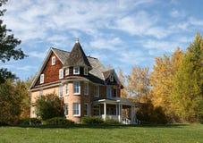 поместье 3 домов Стоковое Изображение RF