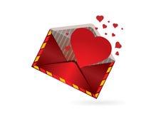 пометьте буквами влюбленность Стоковое фото RF