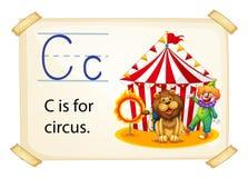 Пометьте буквами c Стоковые Изображения RF