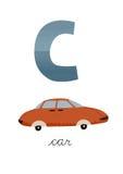 Пометьте буквами c Иллюстрация штока