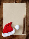 пометьте буквами santa Стоковая Фотография RF