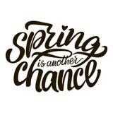 Помечать буквами надпись Весна еще один шанс бесплатная иллюстрация