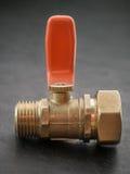помещенный прибор шарика паяющ белизну клапана Стоковые Изображения