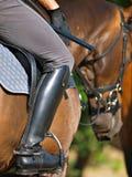помогает ноге Стоковое фото RF